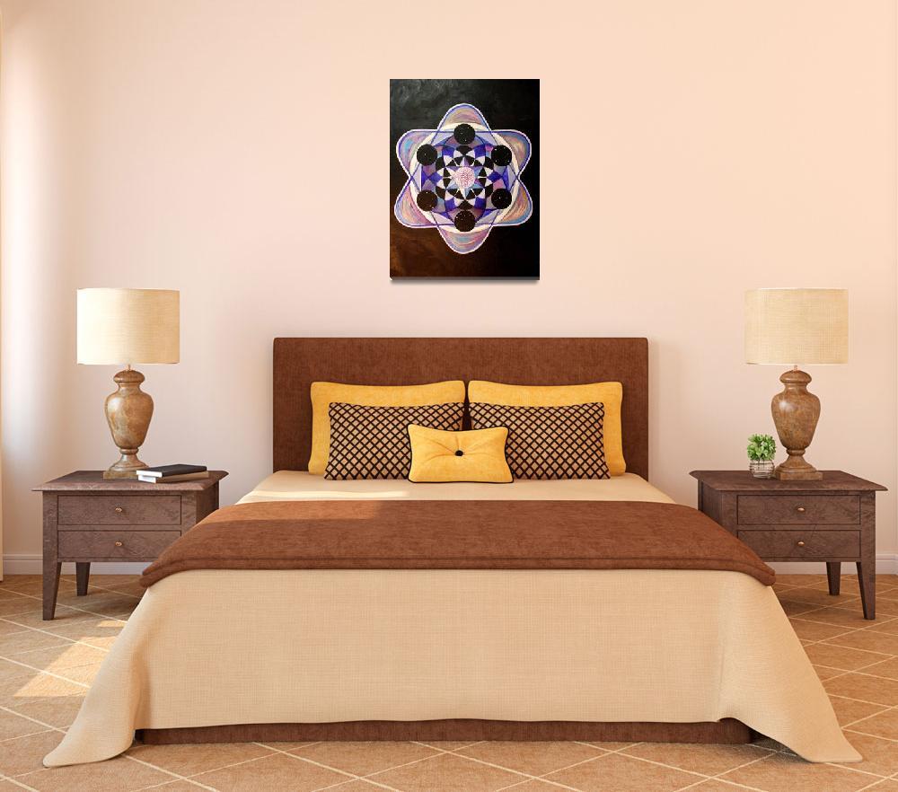 """Cymatics of Ajna""  (2014) by 1RachelVerdi1"