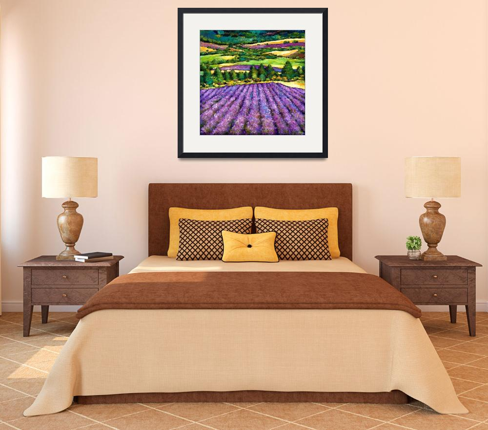"""Tuscan Lavender&quot  (2011) by jhfineart"