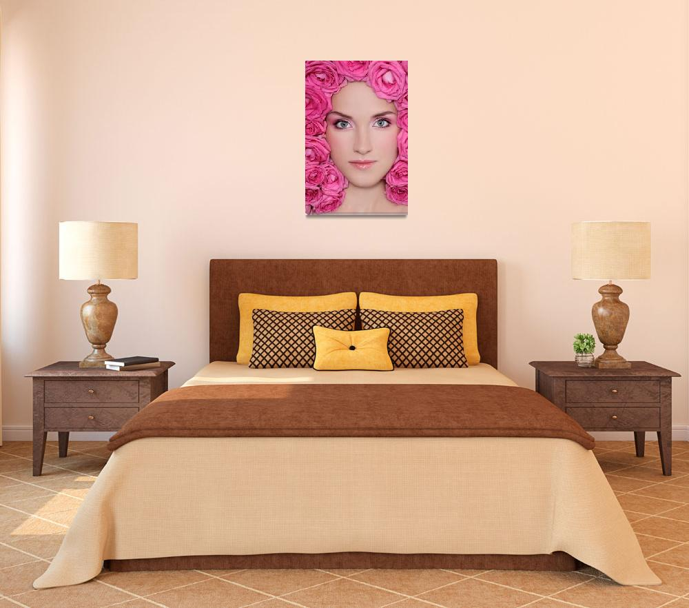 """""""Pink Roses""""  (2009) by olgaecat"""