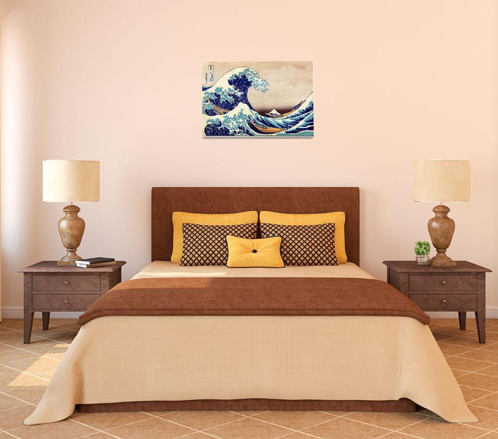 """Katsushika Hokusai The Great Wave Off Kanagawa Jap&quot  by masterpiecesofart"