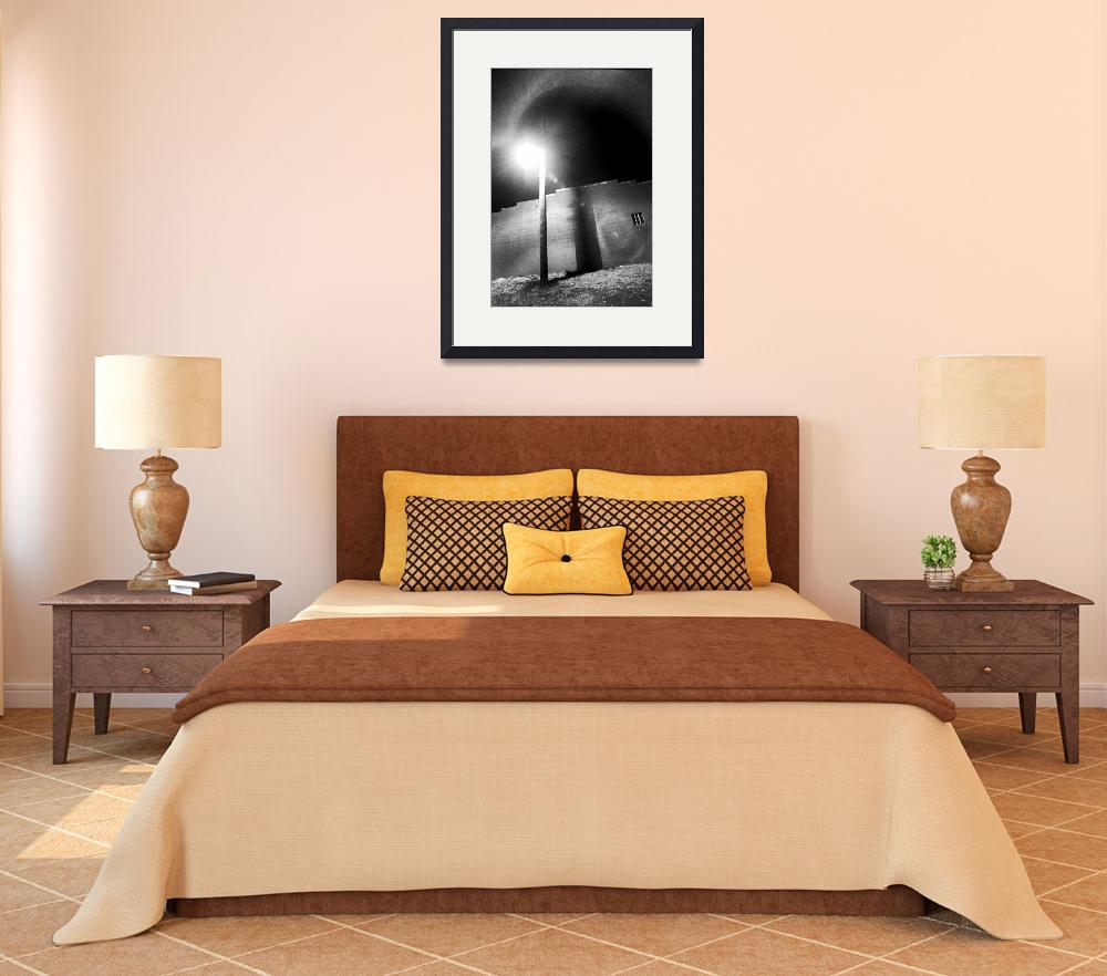 """""""walllight1bw&quot  (2003) by ssmiley1"""