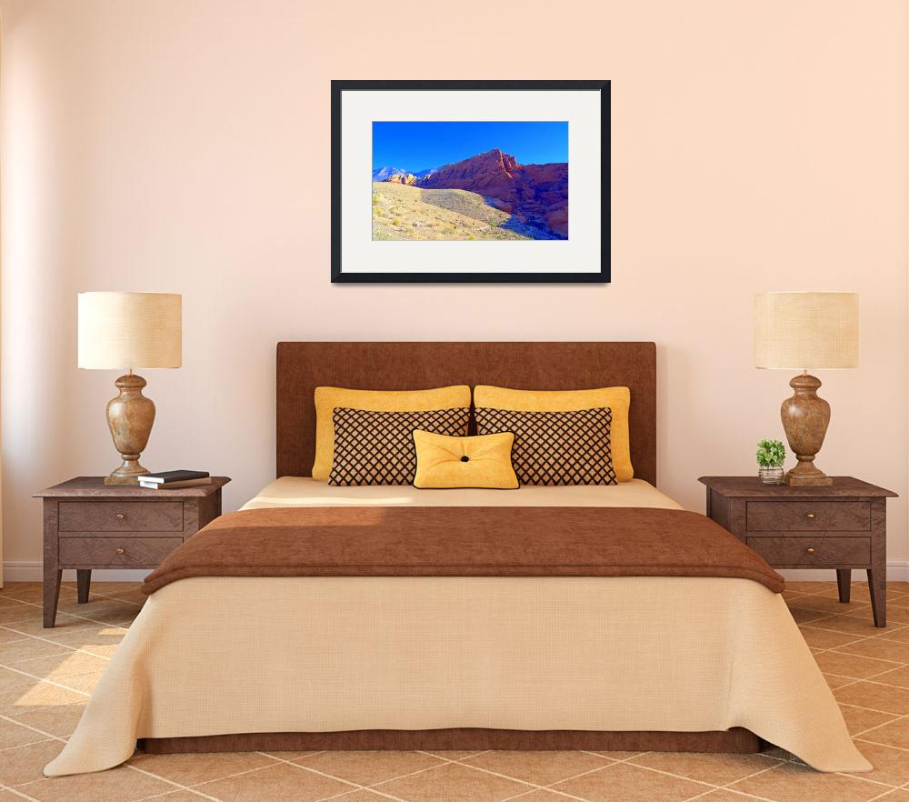 """Red Rock Canyon 4&quot  (2012) by RandallWeidner"