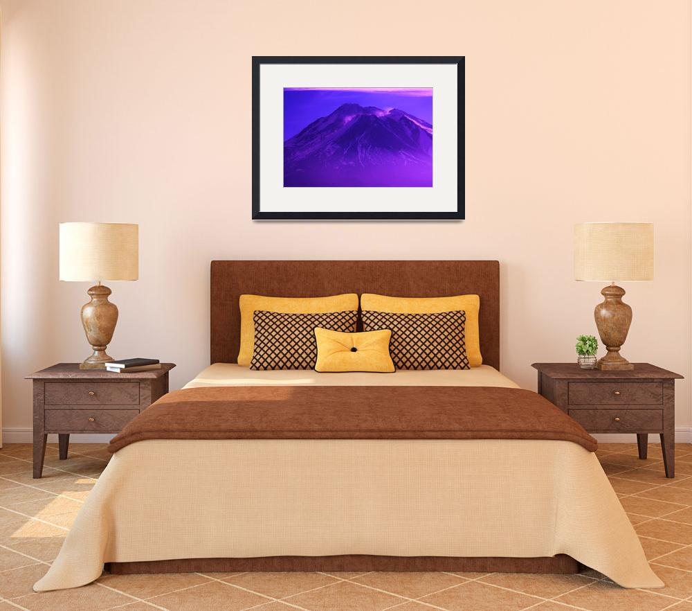 """Purple Mountains Majesty""  (2010) by ART4YOUR2EYES"
