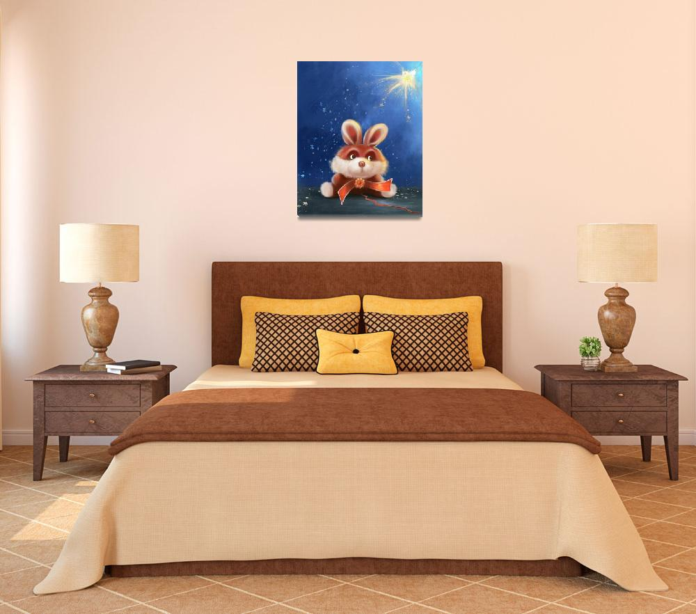 """""""Kids Room Wall Poster&quot  (2012) by eydiHB"""