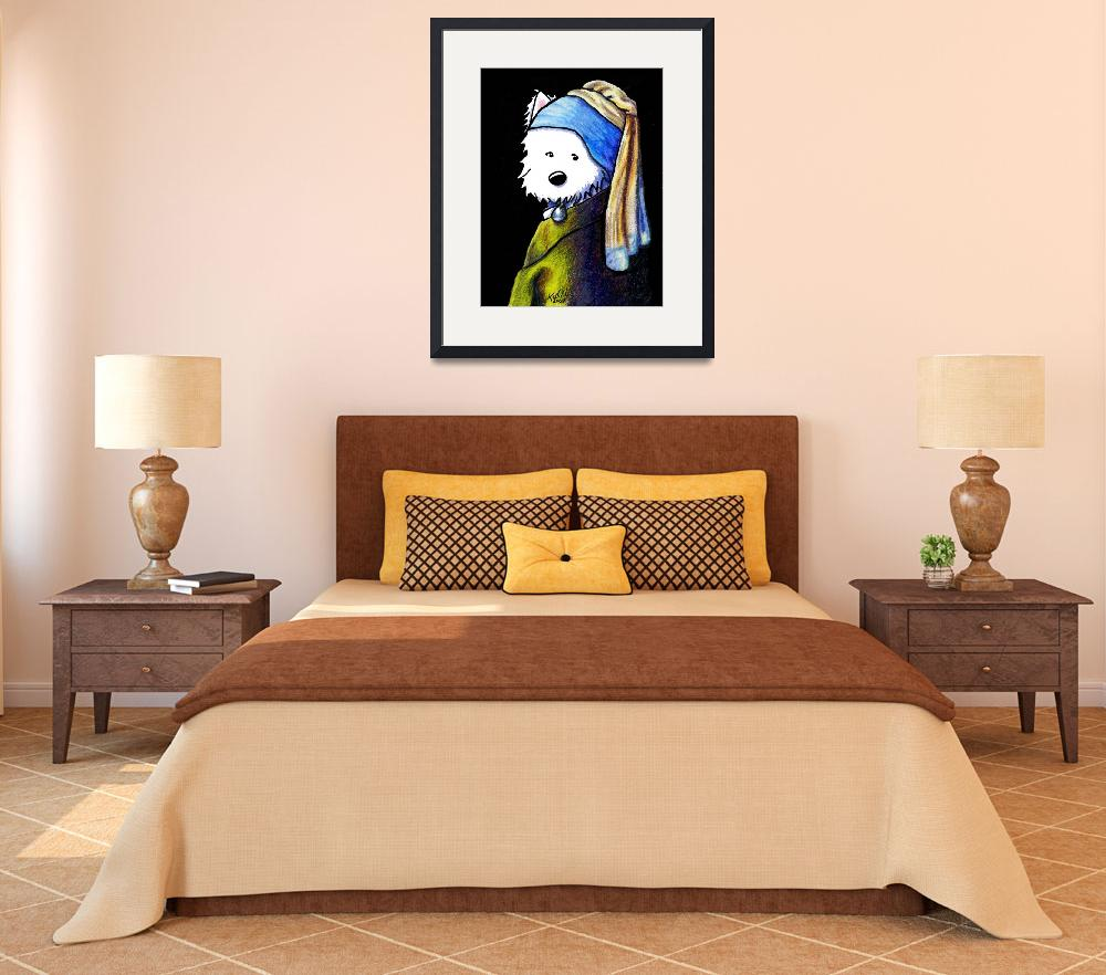 """KiniArt Girl With A Pearl Earring&quot  (2007) by KiniArt"