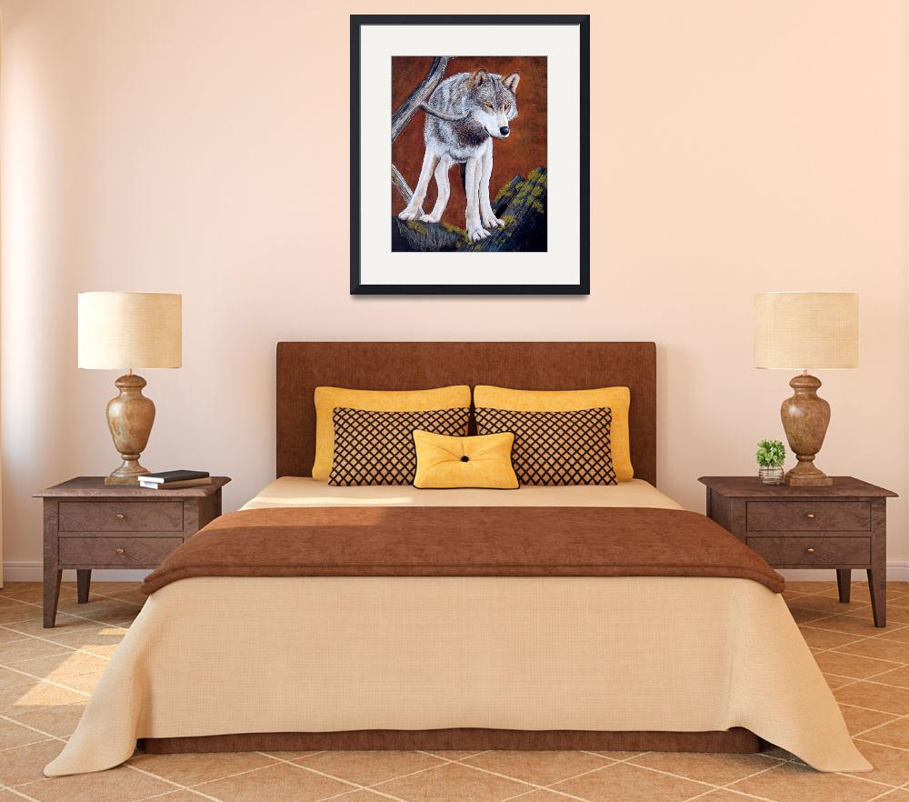 """""""Guardian of the Den&quot  (2008) by artbylorraine"""