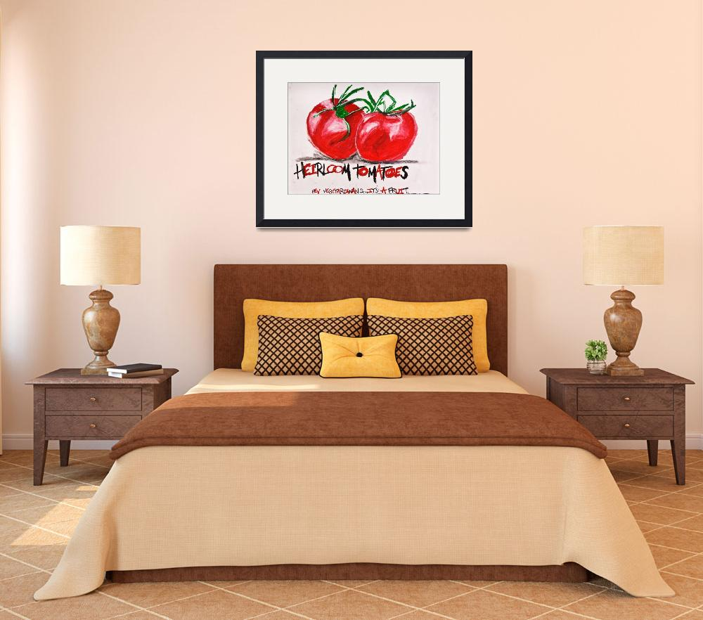 """""""Heirloom Tomatoes&quot  (2010) by NeilMFDundee"""