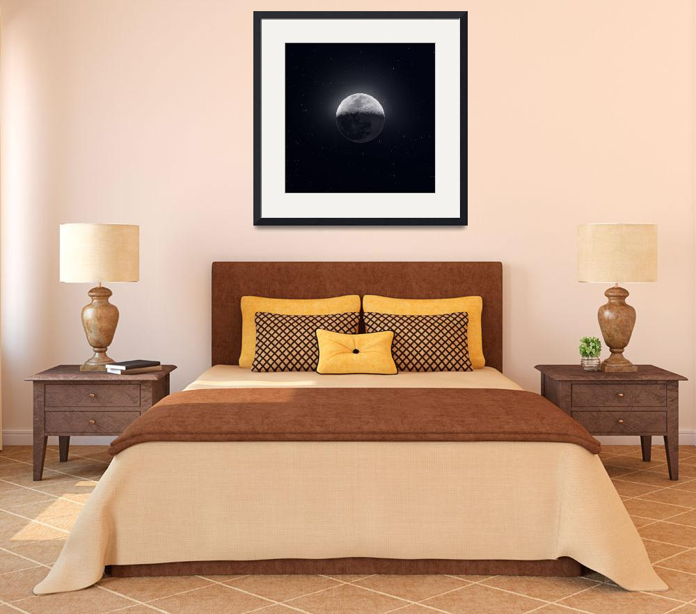 """""""Our Moon in High Definition&quot  (2019) by cosmic_background"""