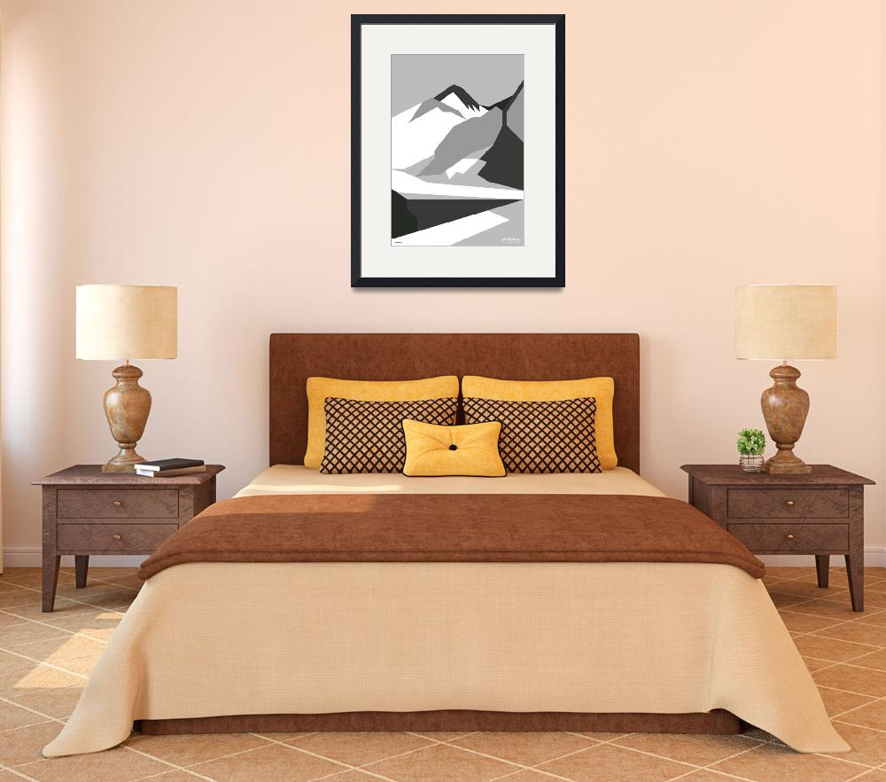"""""""Everest Black - Art Gallery Selection&quot  by Lonvig"""