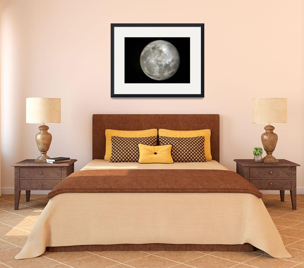 """""""The Moon""""  (2011) by vncstone"""
