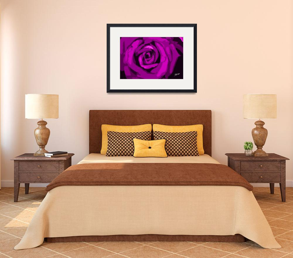 """""""Pink Rose Signed&quot  (2012) by SouthIdahoPhoto"""