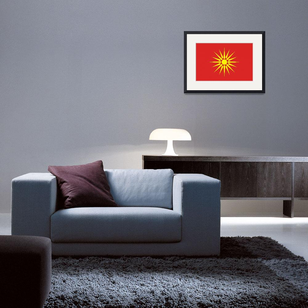 """old Macedonia flag&quot  by tony4urban"
