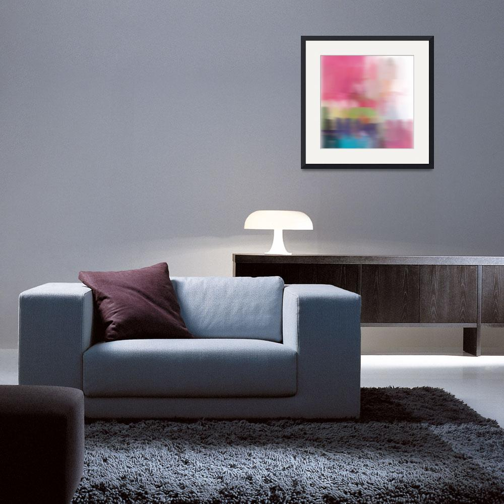 """""""3D Blurred Boundaries - Abstract Expressionism N30&quot  by Aneri"""