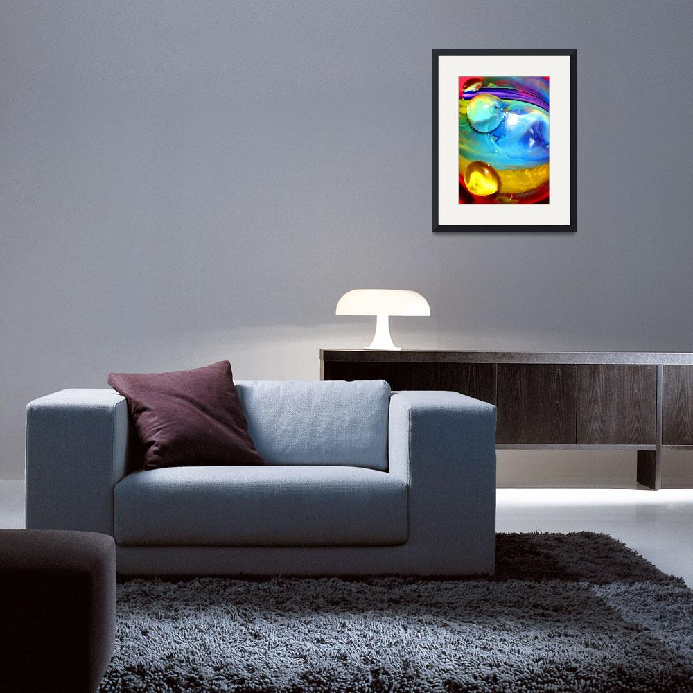 """""""Bubble Abstract #1&quot  by Kaitlyn698"""