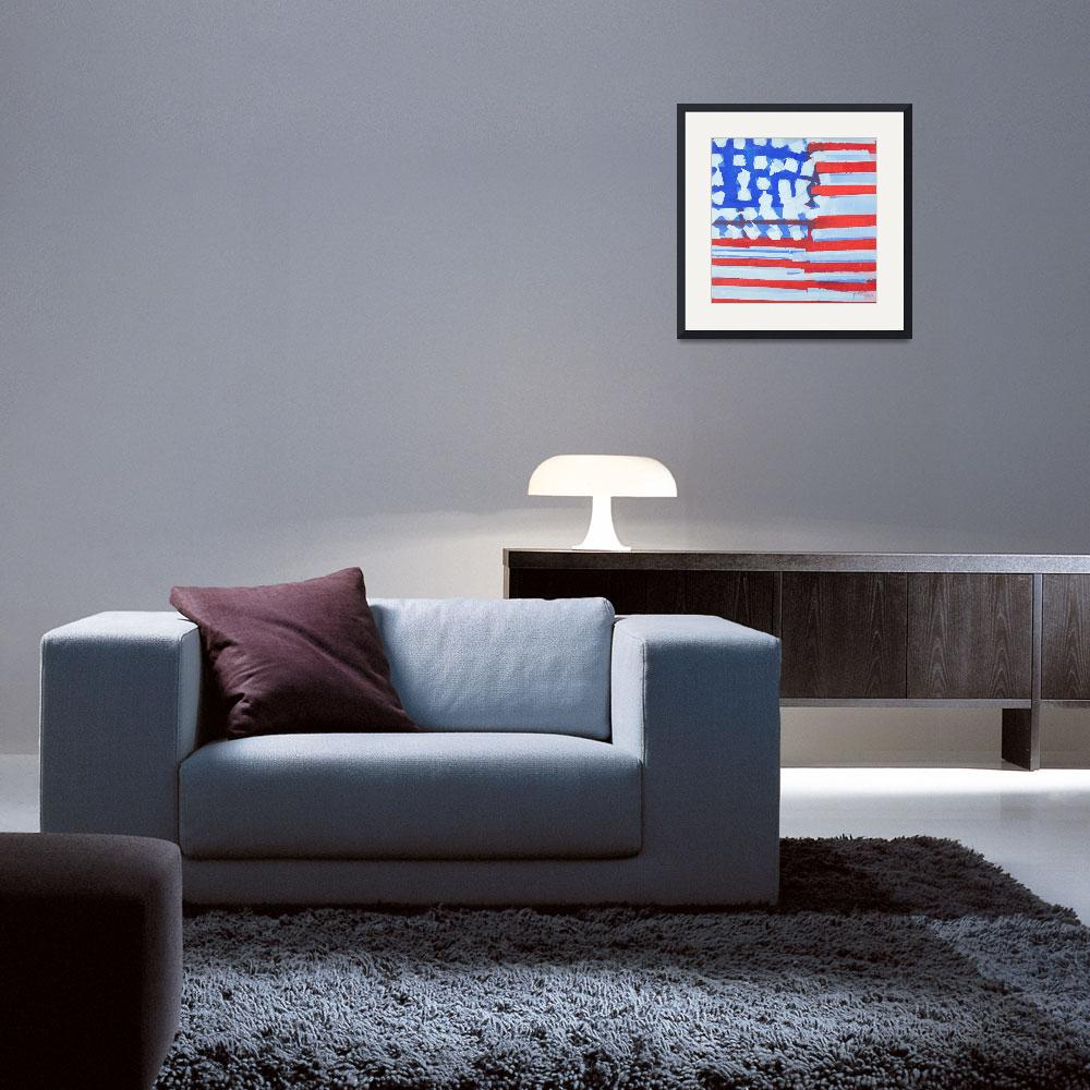 """American Flag&quot  (2011) by PLPartners"