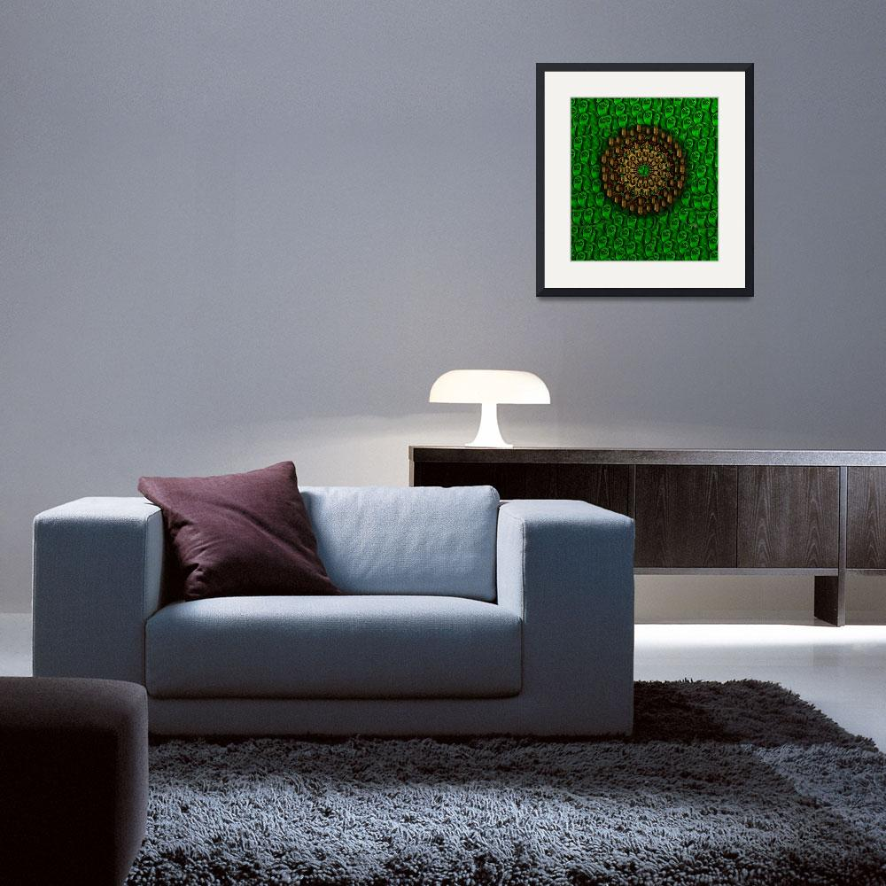 """""""YIN YANG PAINTING&quot  (2008) by PepitaSelles"""