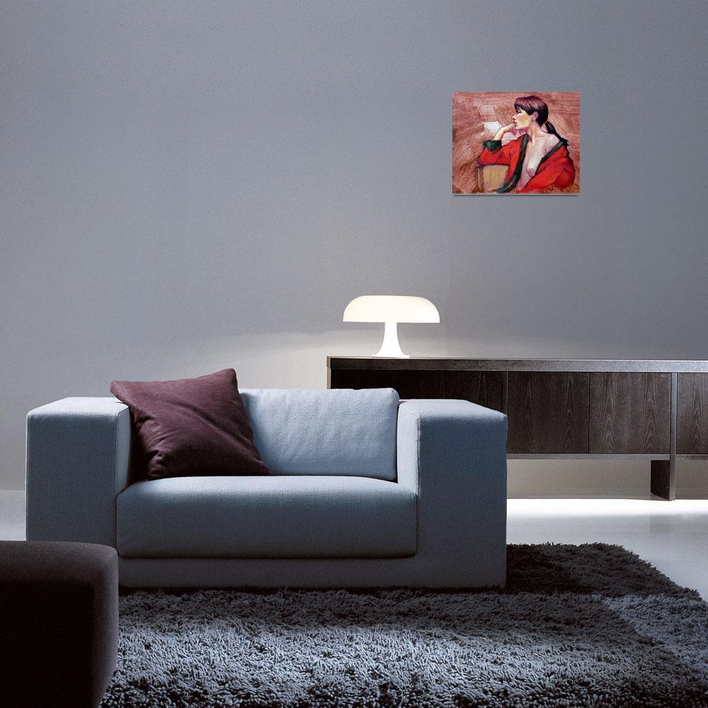 """The Red Kimono""  (2010) by rozmcquillan"