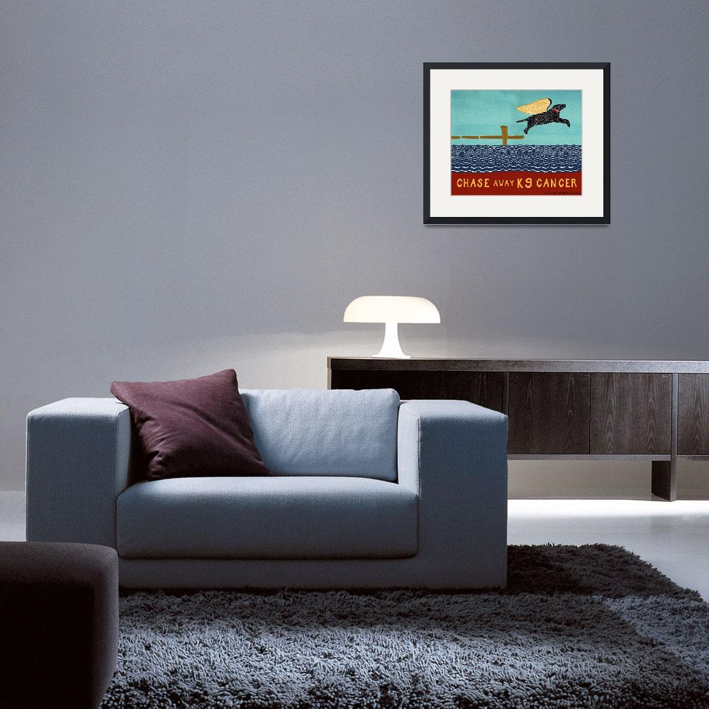"""""""chase_away_k9_cancer&quot  by artlicensing"""