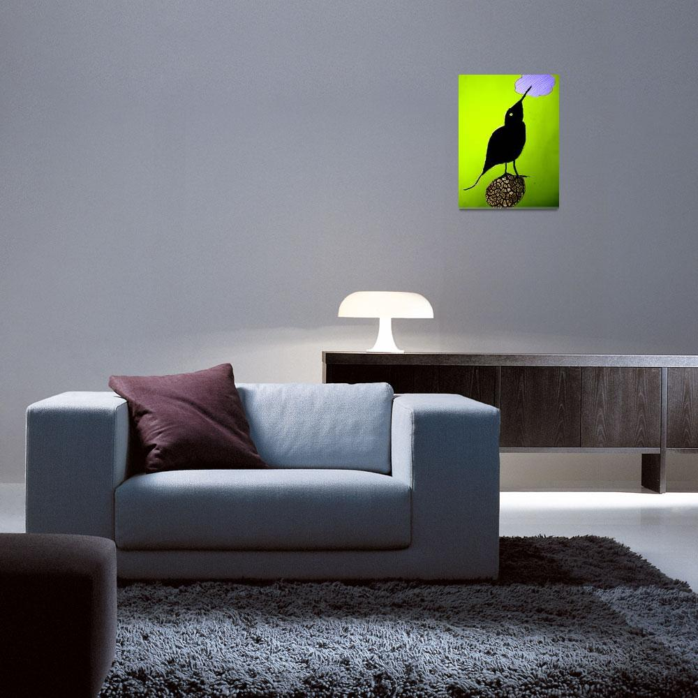 """""""a bird&quot  by TomerTal"""