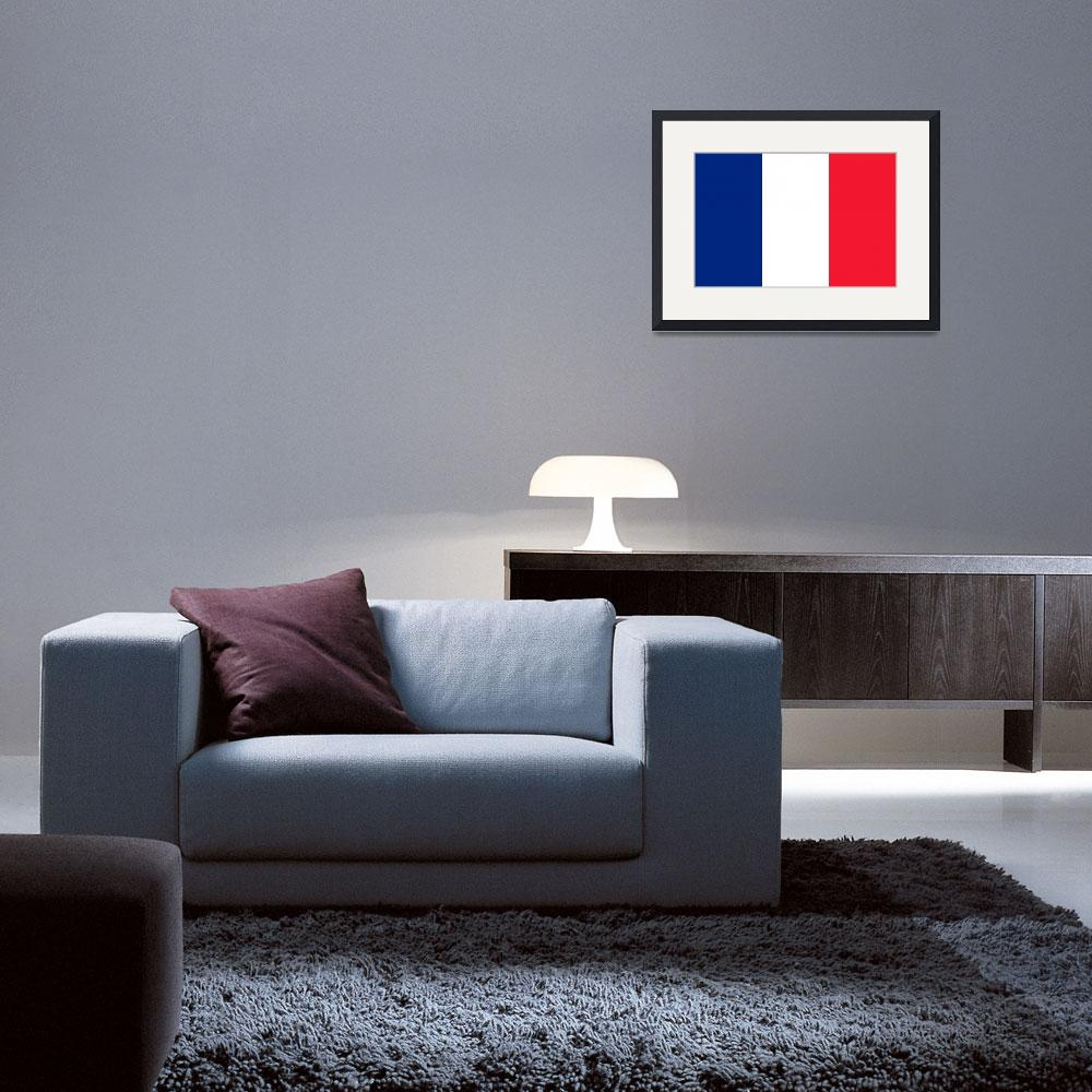 """tobias_Flag_of_France&quot  by ArgosDesigns"