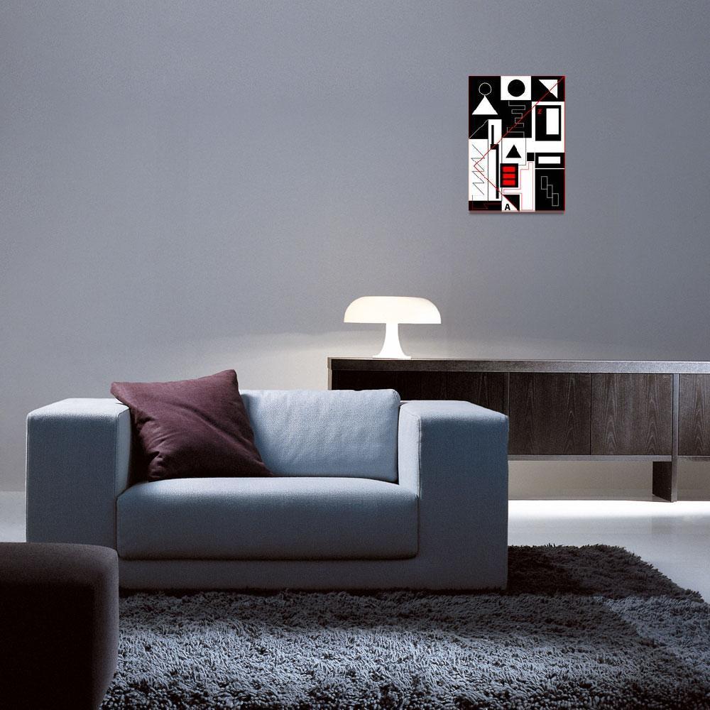 """Perception 1 - Art Gallery Selection""  by Lonvig"