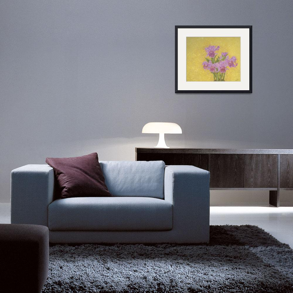 """Fine Art Prints Orchids Flowers Orchids Wall Art""  (2008) by BasleeTroutman"
