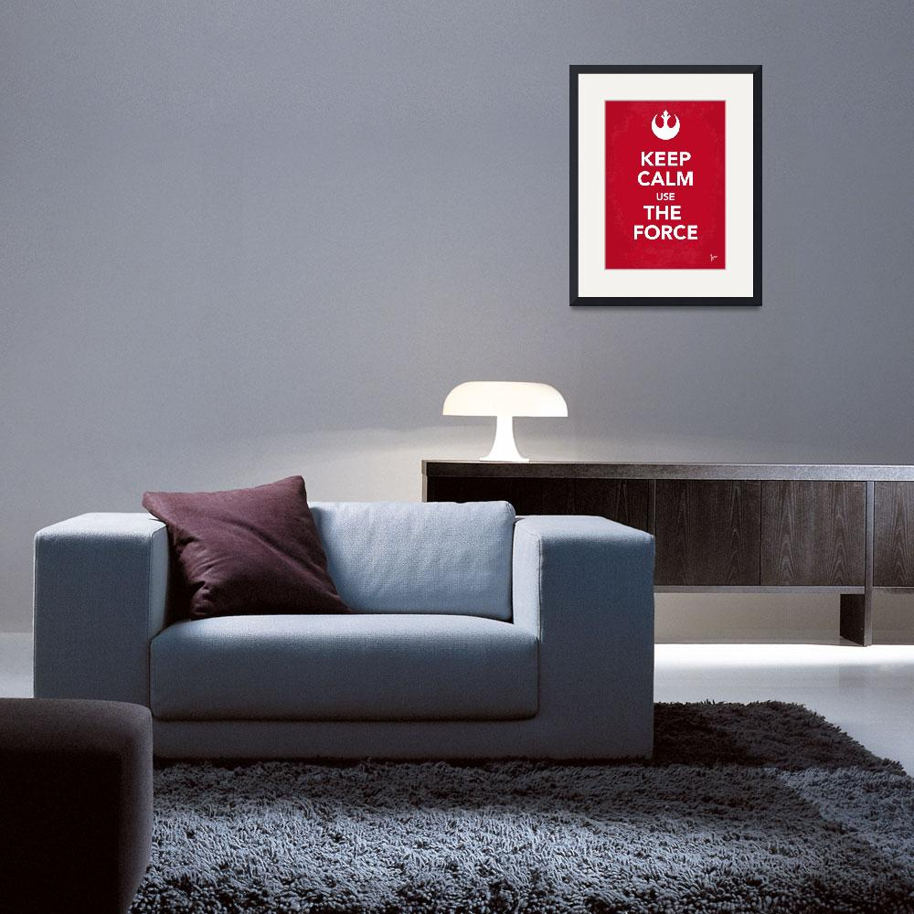 """""""My Keep Calm Star Wars - Rebel Alliance-poster&quot  by Chungkong"""