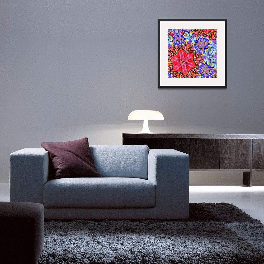 """""""Floral Fantasy 20&quot  (2012) by Chicagoartist1"""