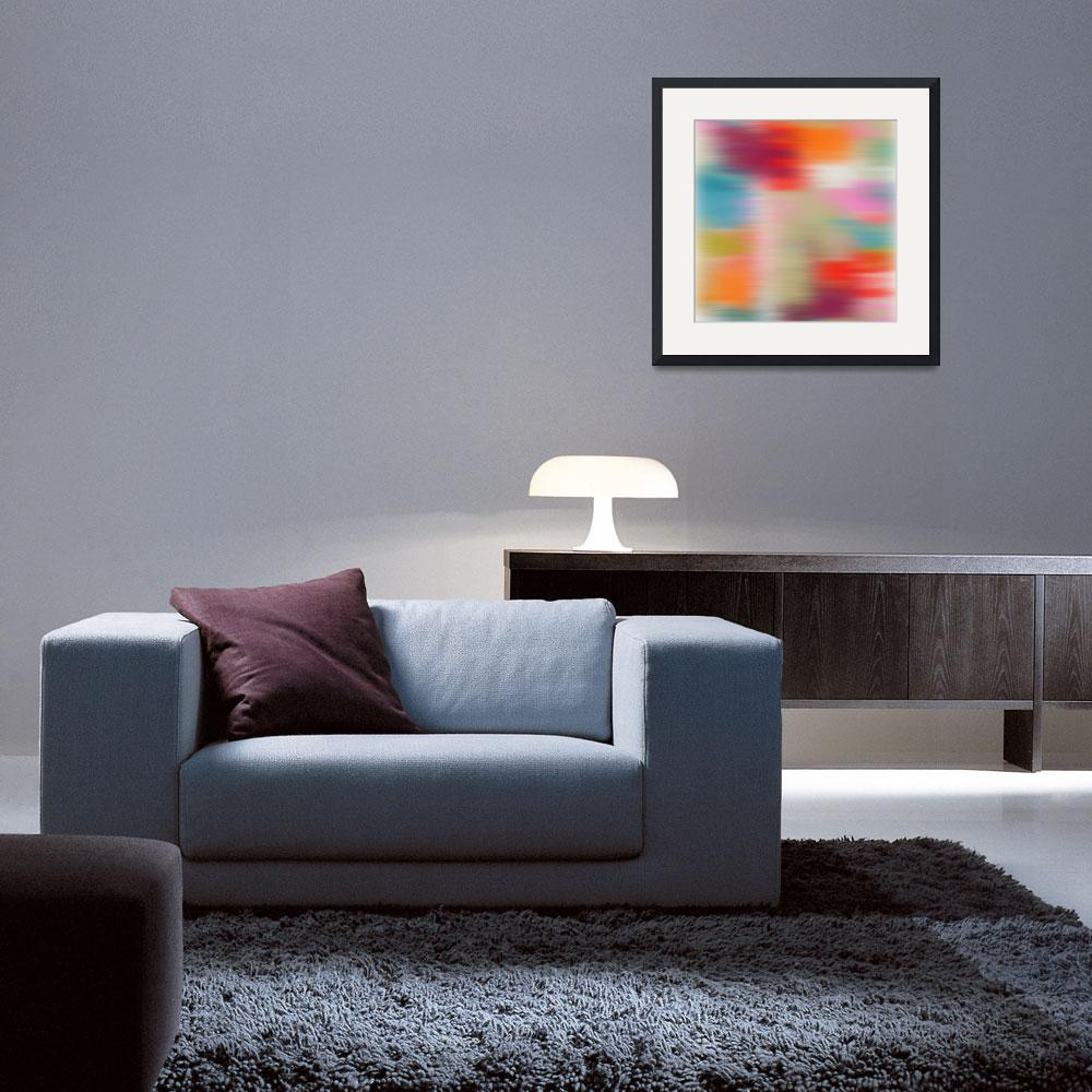 """""""3D Blurred Boundaries - Abstract Expressionism N19""""  by Aneri"""