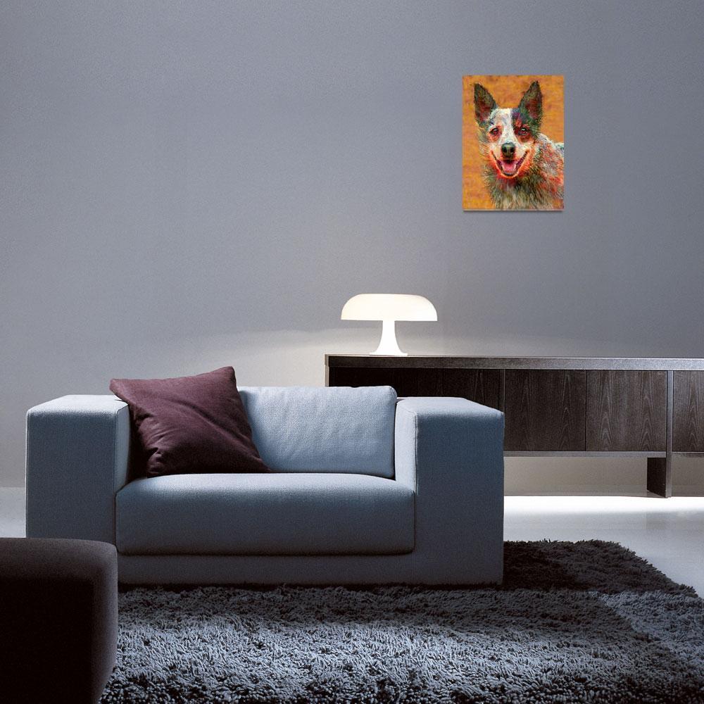"""""""australian cattle dog""""  (2011) by pietrastone"""