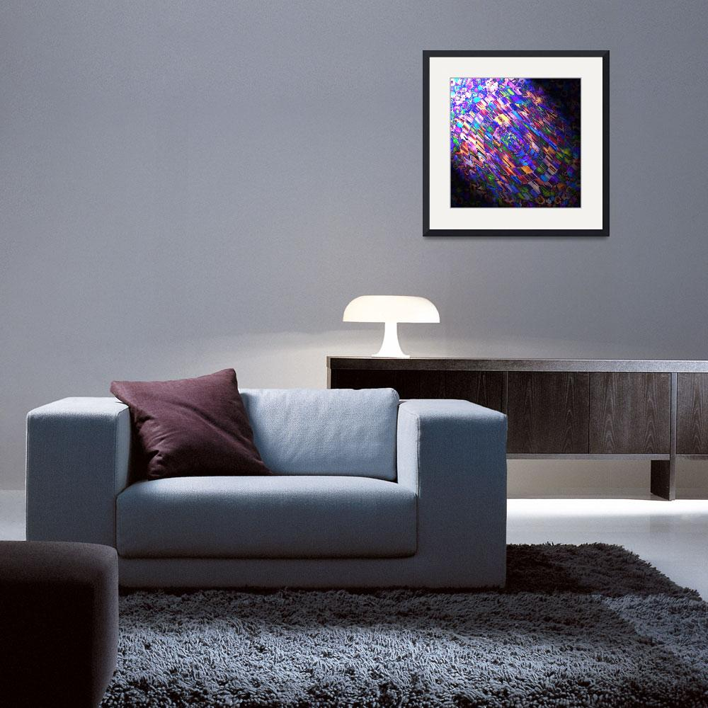 """""""Comet of Colour""""  (2013) by abstractsbyalli"""
