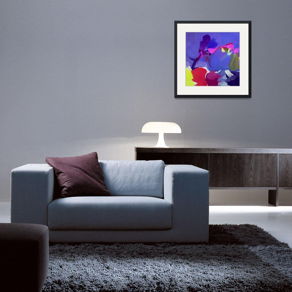 """""""Abstract Colorful Art&quot  by Aneri"""