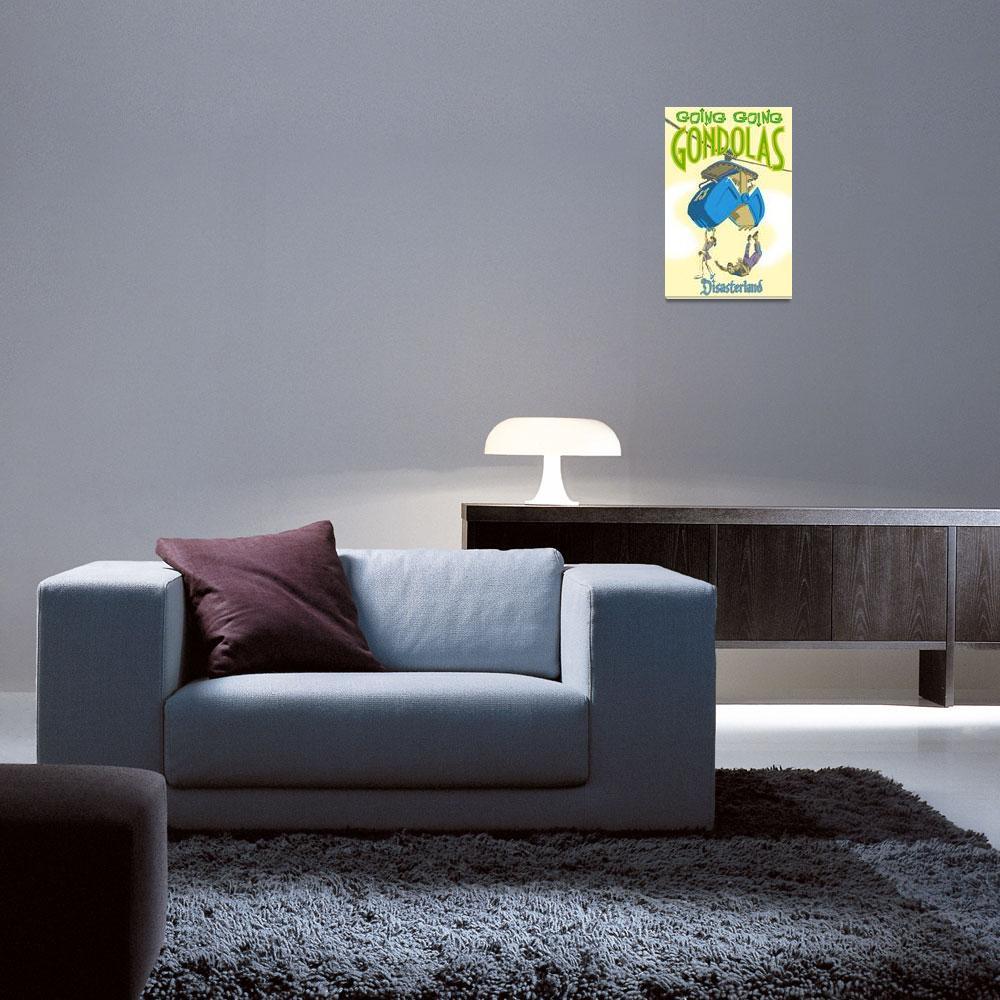 """Gondola Poster&quot  (2006) by ChrisGoldsmith"
