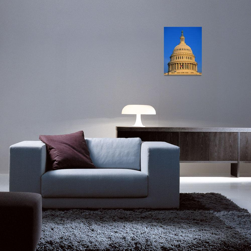 """""""Dome of the United States Capitol Washington DC&quot  by Panoramic_Images"""