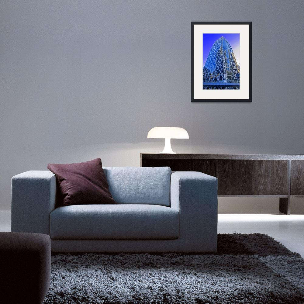 """""""Mode Gakuen Cocoon Tower&quot  (2008) by ImageArt-Photography"""