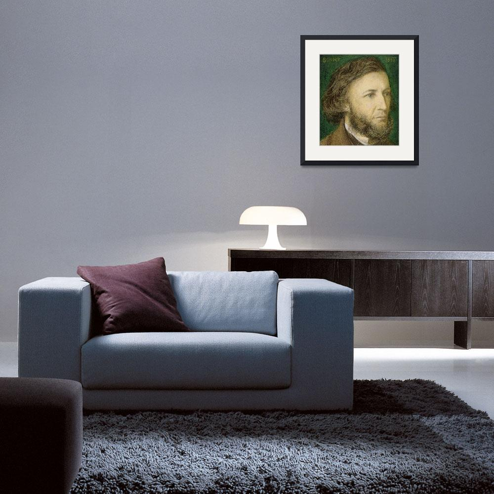 """""""Portrait of Robert Browning&quot  by fineartmasters"""