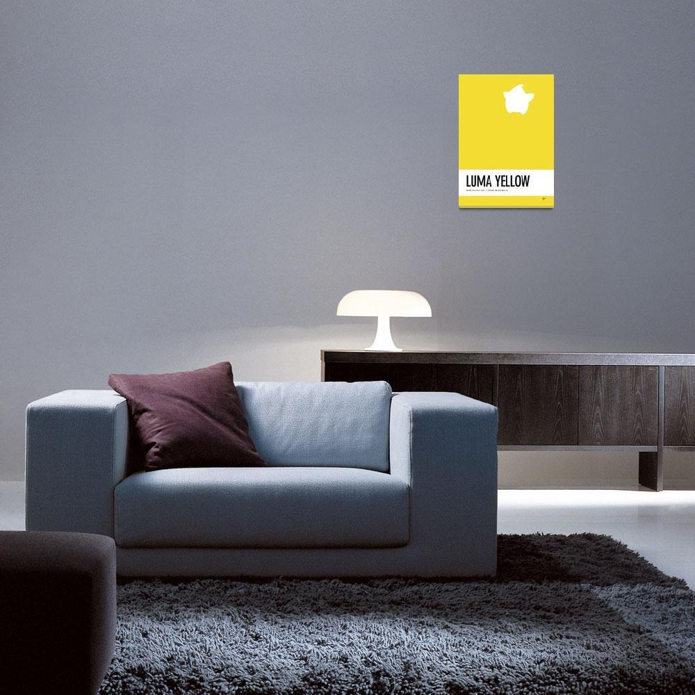 """No40 My Minimal Color Code poster Luma&quot  by Chungkong"