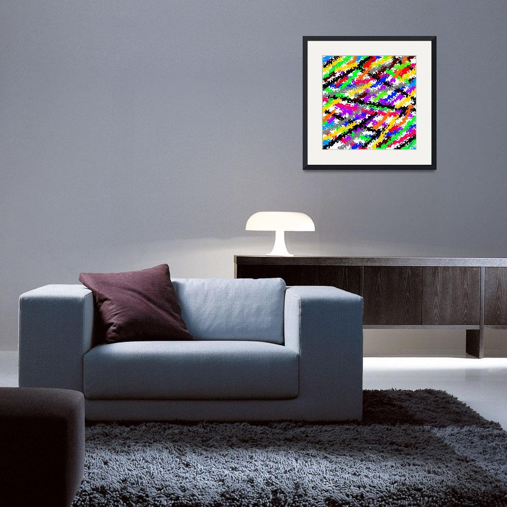 """""""Boldly Colorful Bright Seasons Decorative""""  (2019) by KatHarris"""