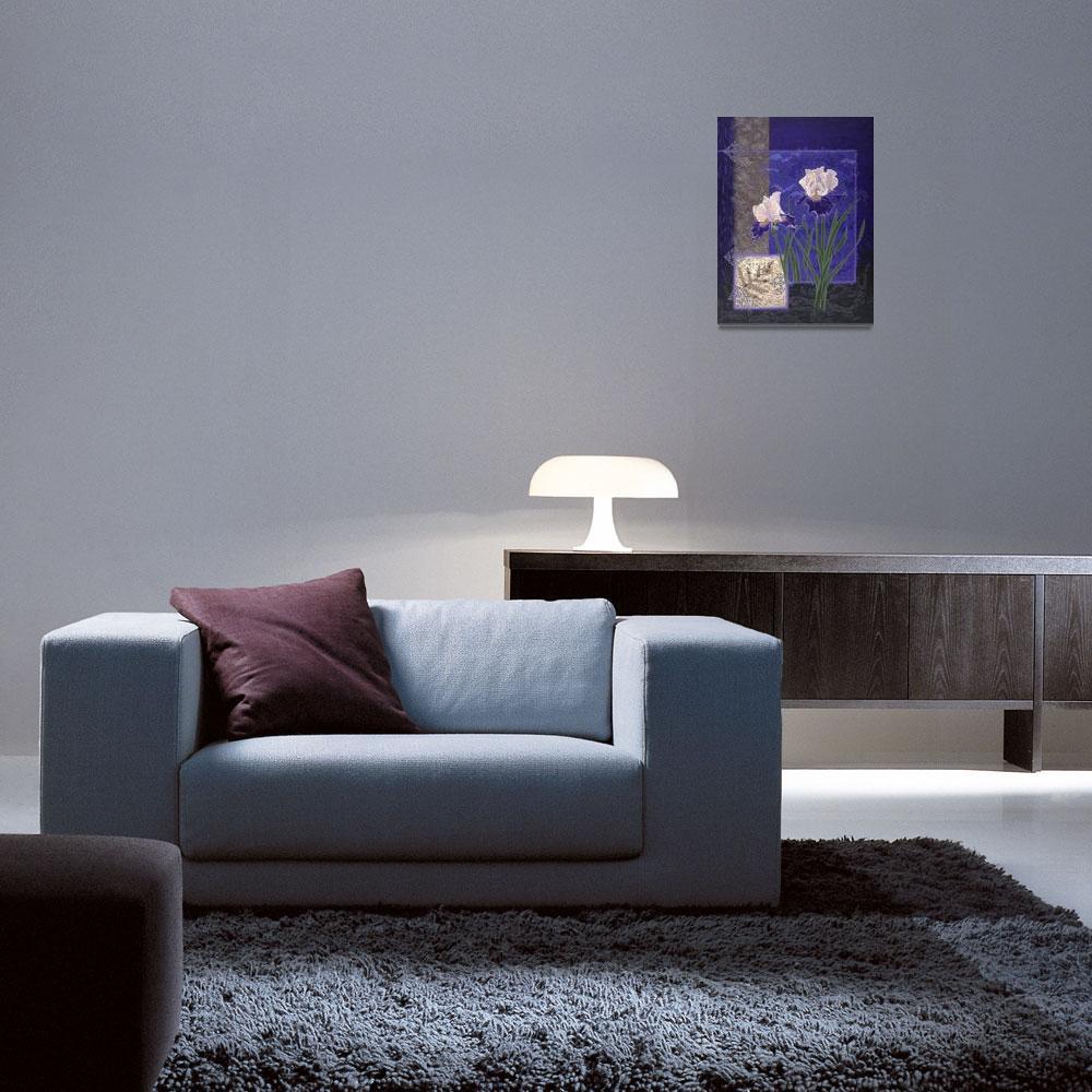 """Fine Art Prints Irises Iris Flower Wall Art Decor&quot  (2008) by BasleeTroutman"
