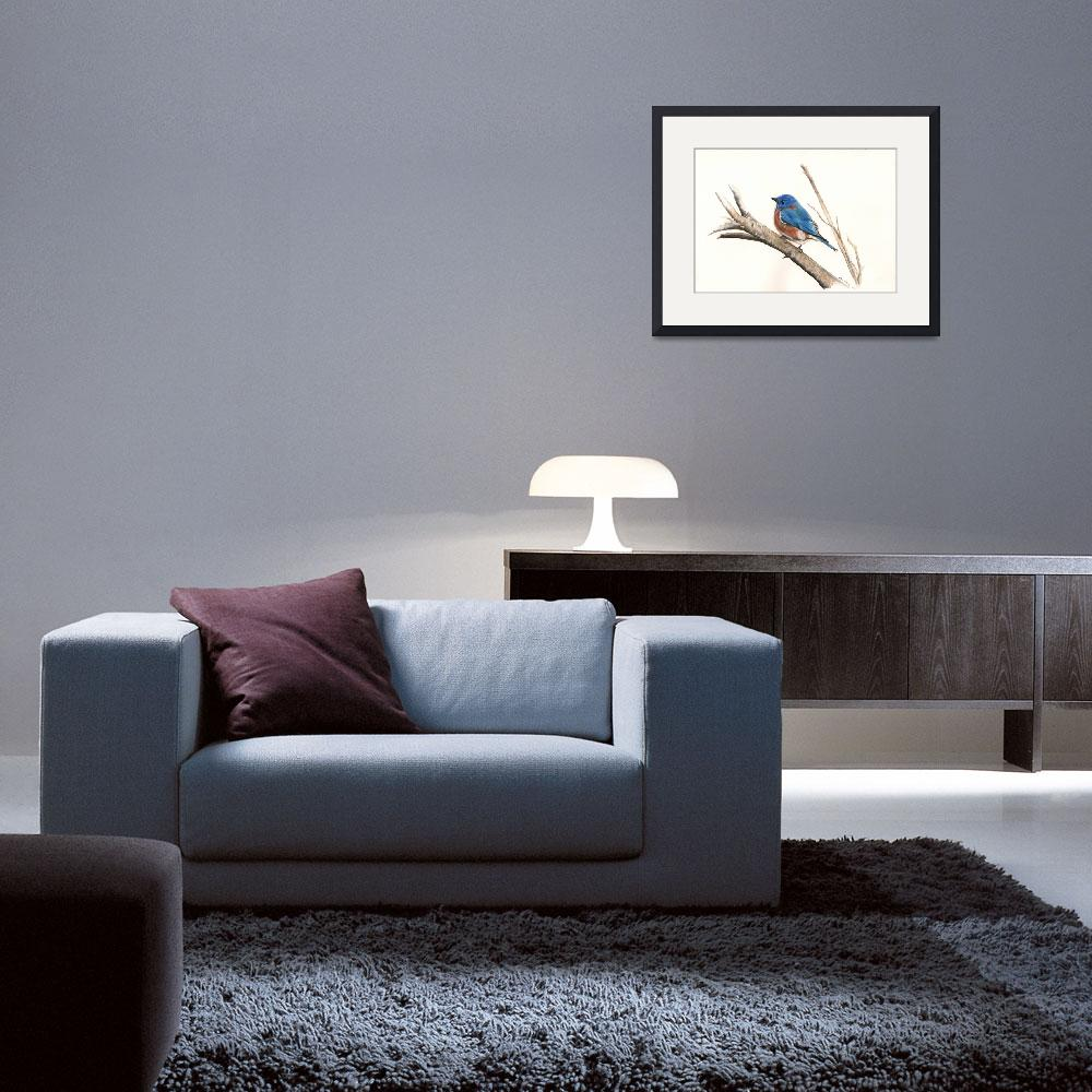 """""""Blue bird&quot  by KenVesey"""