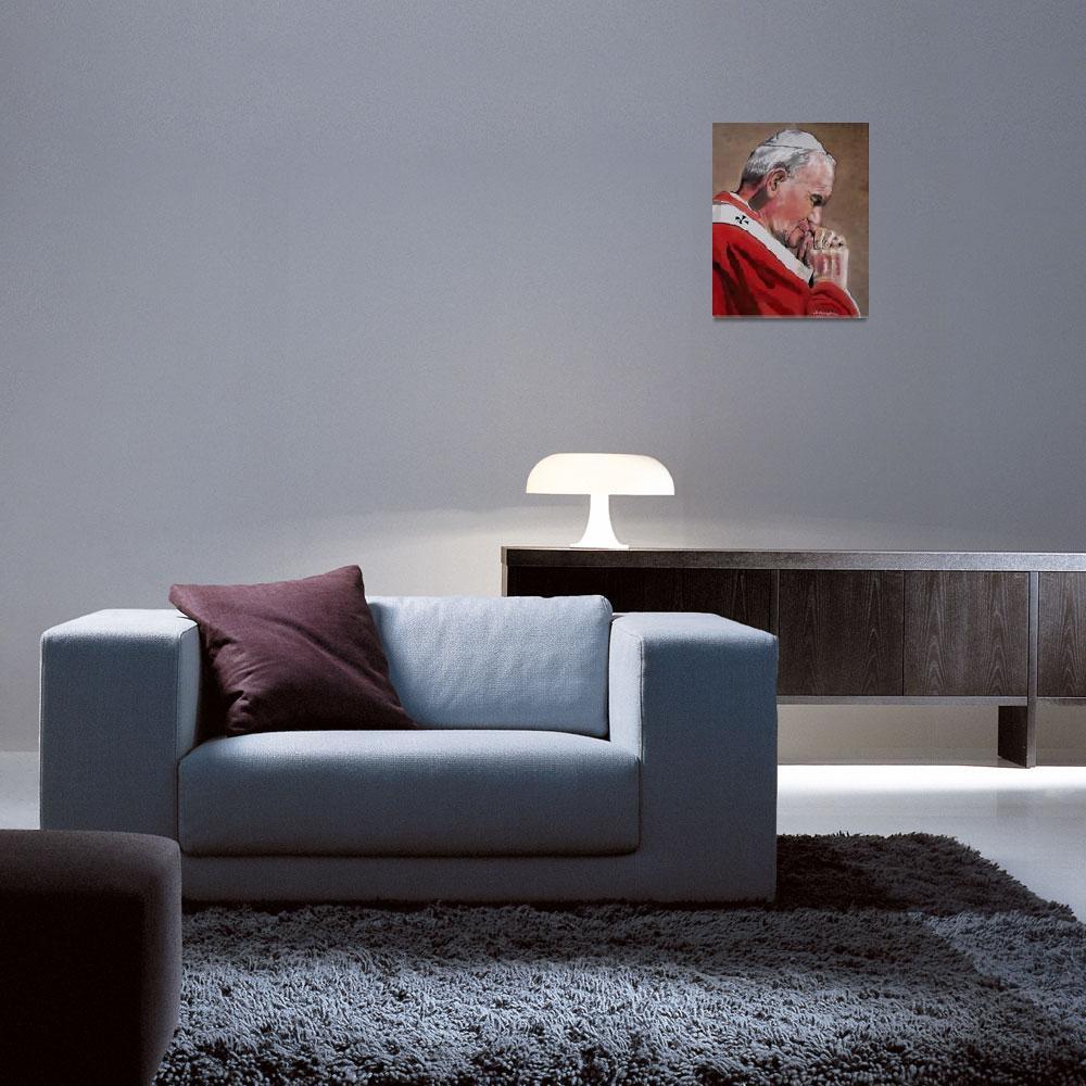"""""""Pope John Paul II""""  (2010) by GRHumphries"""