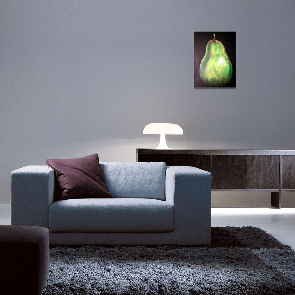 """Pear&quot  (2008) by arteest"