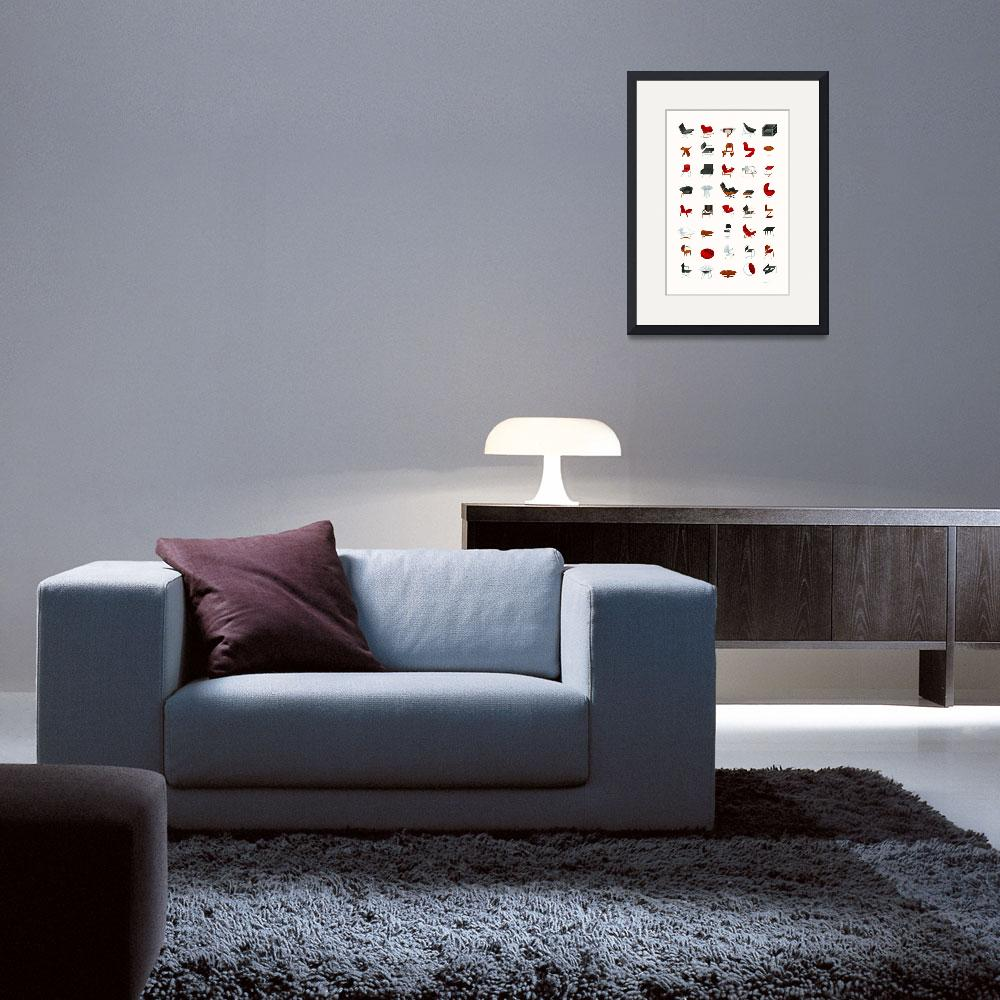 """Mid-Century Modern Collection (Neutral)&quot  (2009) by jamesprovost"