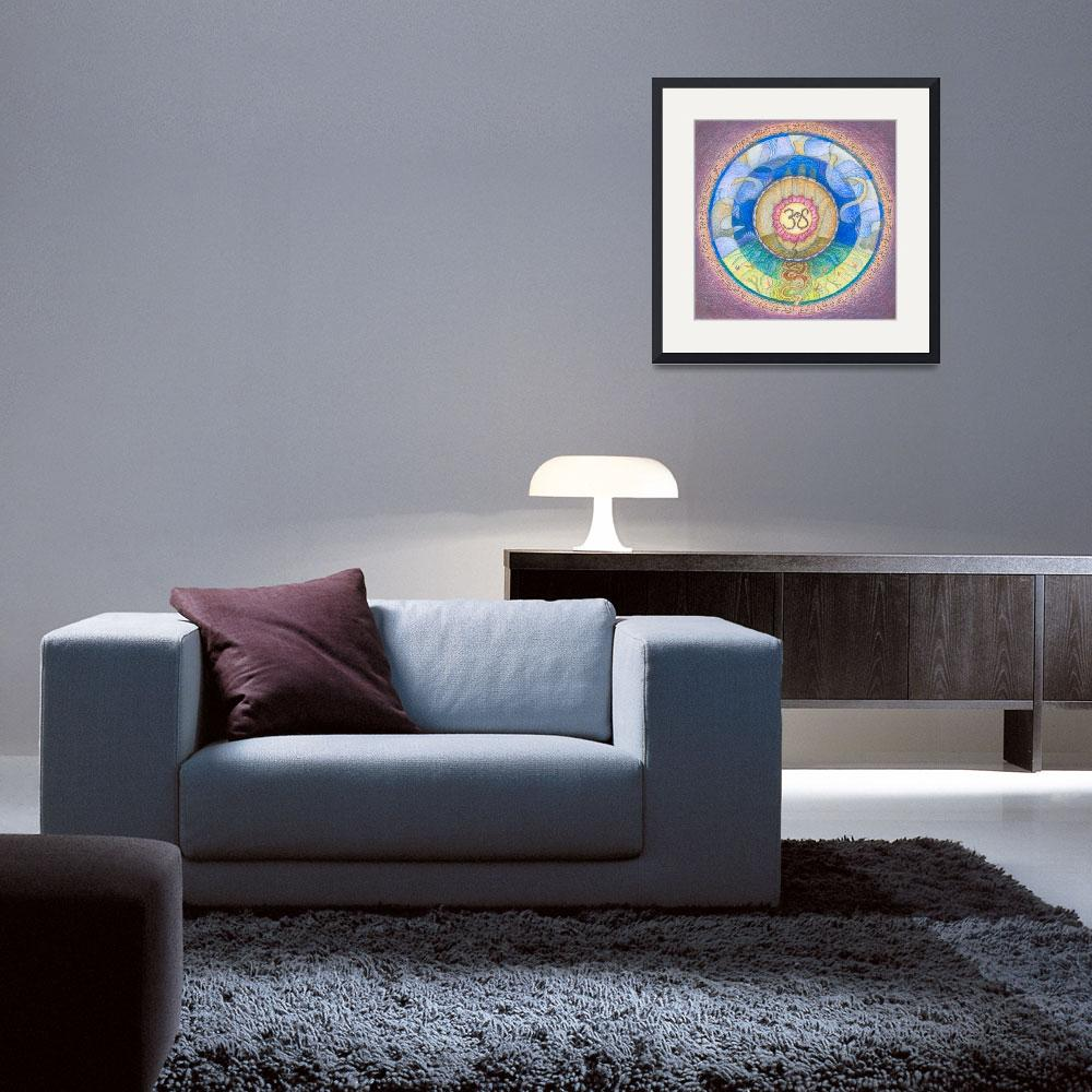 """""""Mandala for Peace and Happiness""""  (2007) by DevotionalArts"""