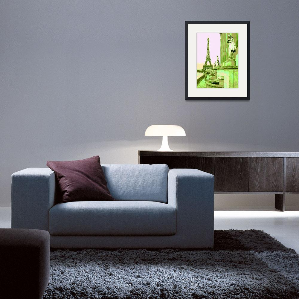 """""""Eiffel Tower&quot  by jclaire"""