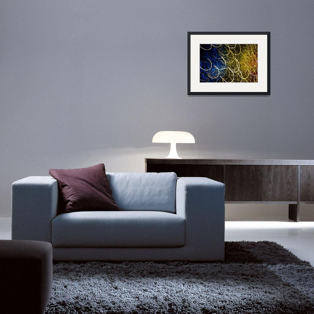 """""""Colourful light abstract&quot  (2011) by kingafoto"""