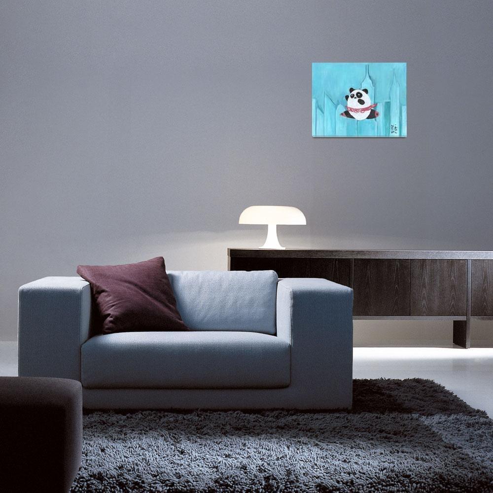"""New York Panda Tutu&quot  (2012) by artchiz"