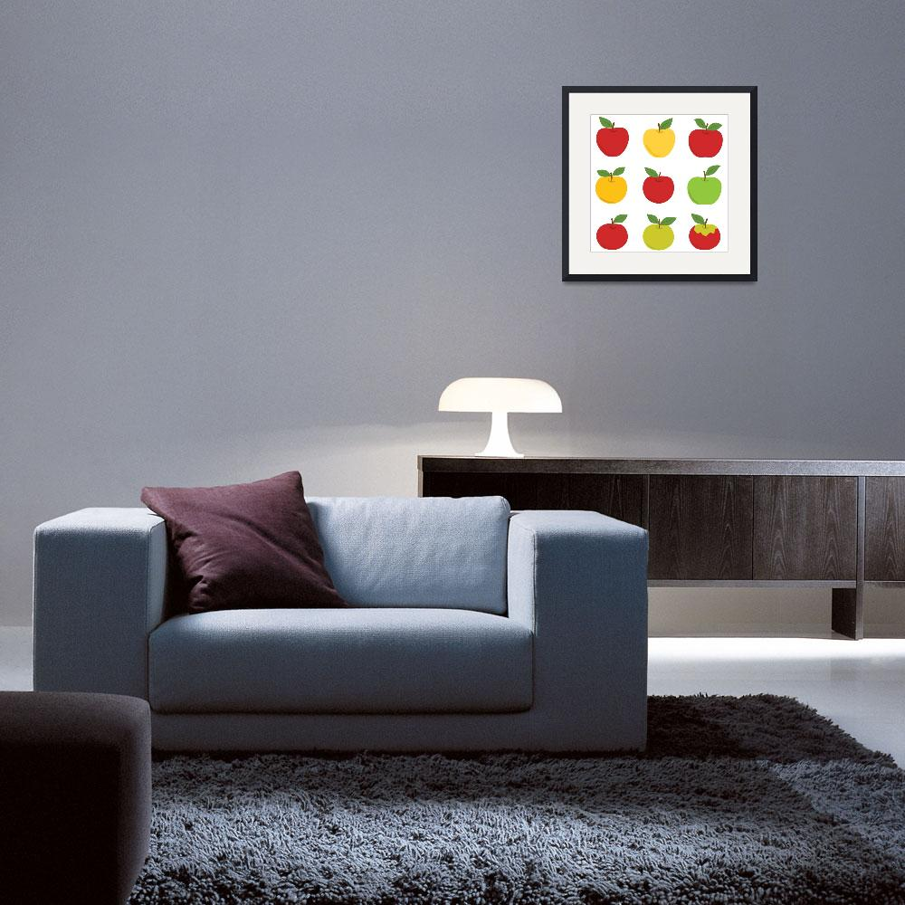 """""""Apples&quot  (2010) by eligri"""