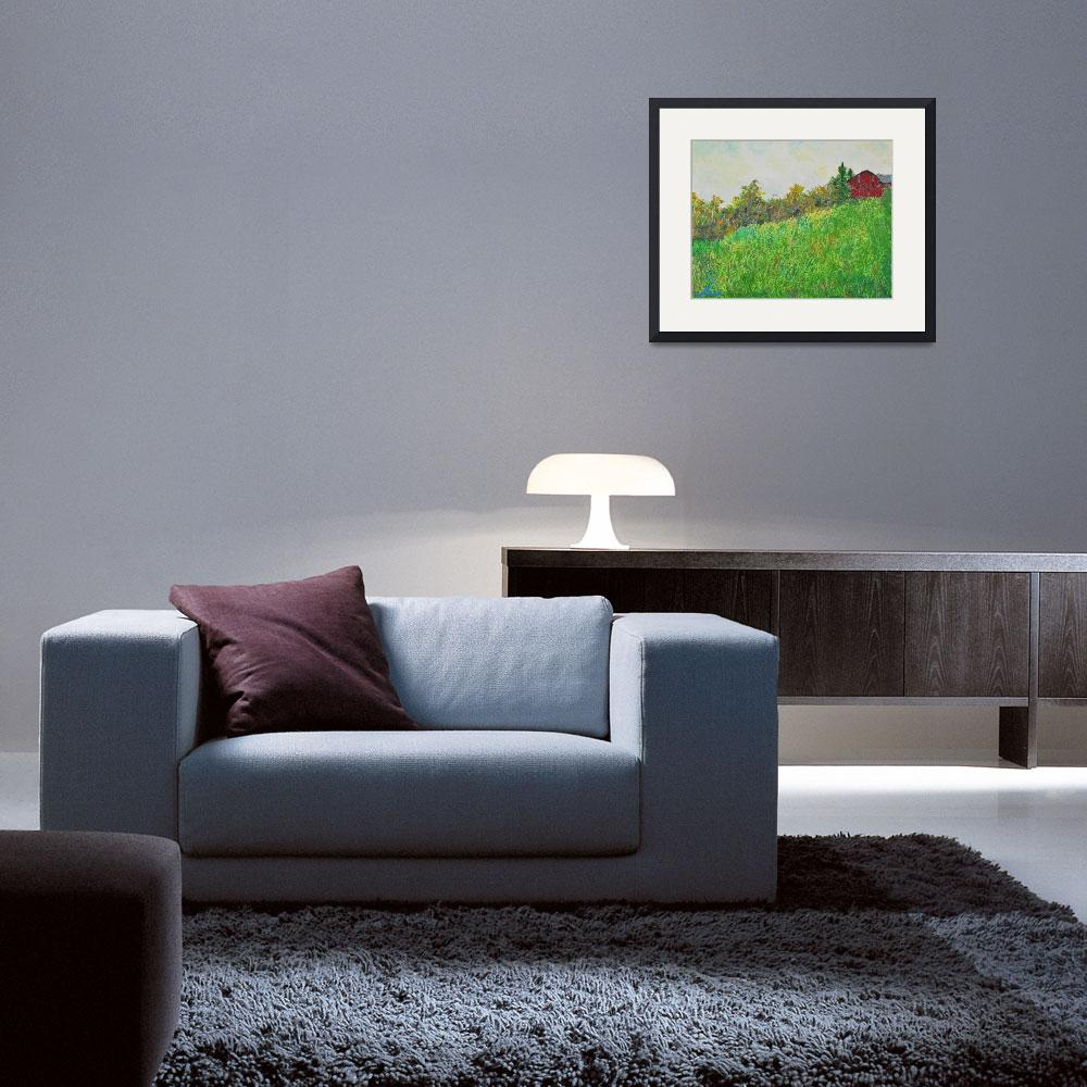 """""""Home Sweet Home""""  (2012) by Luxoart"""