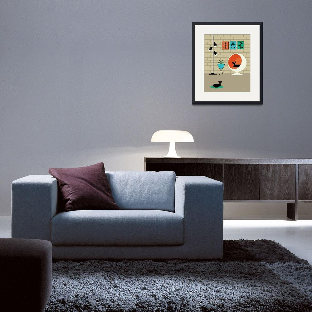 """""""Mini Mid Century Shapes&quot  (2013) by DMibus"""